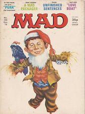 MAD Magazine #200 UK Edition 1978