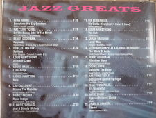 JAZZ GREATS Lena Horne Cab Calloway Sidney Bechet Charlie Parker Ella Fitzgerlad