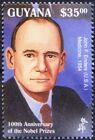John Enders Nobel Medicine Winner from USA, Guyana 1995 MNH