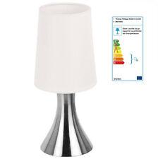 Edelstahl Touchlampe Tischlampe 3 Helligkeitsstufen Dimmbar H:30cm E14 40W