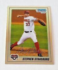2010 BOWMAN CHROME STEPHEN STRASBURG PROSPECT BCP1 1ST BOWMAN NATIONALS
