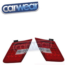 MERCEDES W212 09-13 E-CLASS SEDAN CLEAR RED LED OEM STYLE TAIL REVERSE LIGHTS