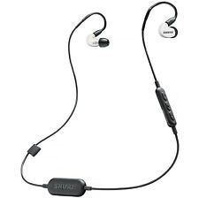 Shure Wireless SE215 Sound Isolating In-Ear Monitors Earbuds w/ Bluetooth WHITE