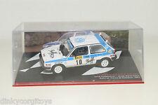 . ALTAYA VW VOLKSWAGEN GOLF GTI 16V RALLY DE TIERRA DE BALAQUER 1991 MINT BOXED