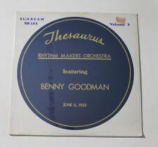 THESAURUS RHYTHM MAKERS FT. BENNY GOODMAN Vol 3 LP Sunbeam 101 US Sealed M 2F