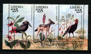 Liberia Postfrisch Vögel Fuchs
