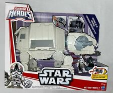 Star Wars Galactic Heroes Imperial AT-AT Fortress Playskool NEW