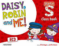 (15).DAISY ROBIN & ME STARTER RED (3 AÑOS).CLASSBOOK PACK