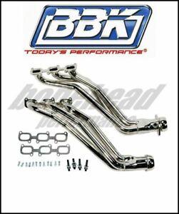 BBK Performance 1642 Chrome Long Tube Headers 2011-2017 Ford Mustang 3.7L V6