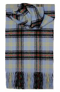 BELL OF THE BORDER TARTAN SCARF 100% LAMBSWOOL  by LOCHCARRON