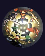 VINTAGE SILVER AGE Justice League Poster by Alex Ross (2004) FULL SIZE POSTER