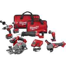 Milwaukee 2896-26 M18 FUEL™ 6-Tool Combo Kit