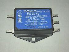 TOKIN MR-2043 250V-AC 4A AMP NOISE LINE FILTER