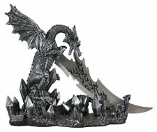 Wicked Fire Dragon Fantasy Knife Holder Dagger