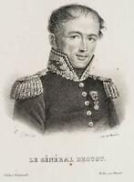 GARNIER; DUCARME, Porträt von General Drouot, Lithografie