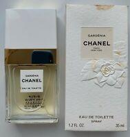 CHANEL GARDENIA EAU DE TOILETTE spray 35 ML 1.2 fl oz RARE 1990s