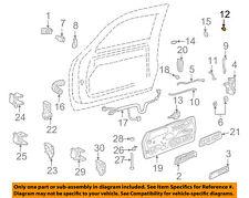 GM OEM Front Door-Rod Clip 12338100