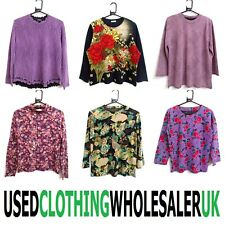 25 JAPANESE PATTERN TEXTURE TOPS WOMEN'S WHOLESALE CLOTHING SUSTAINABLE JOB LOT