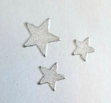 Stickerbogen, Weihnachten, Christmas, Sterne, Glitzer, Weiß, Nr. 7078