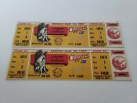 1997 Los Angeles Clippers Vs Golden State Warriors Full Ticket Stubs