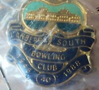 Canberra South Bowling Club 1948 1988 40 years pin badge
