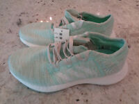 *NEW* Adidas PureBoost Go Running Shoes Clear Mint White B75827, Womens Size 5.5