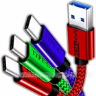? [3 PACK] Type-C Nylon Braided USB Data Sync Charger Charging Cable Cord