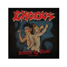 """""""Exodus Bonded By Blood"""" Album Art Thrash Metal Music Band Sew On Applique Patch"""