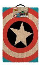 Officiel sous licence marvel comics CAPTAIN AMERICA (bouclier) Tapis de porte