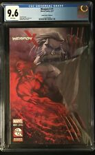 Weapon X (2017) #1 CGC 9.6 Michael Turner Aspen Comics Variant! Limited to 2000!