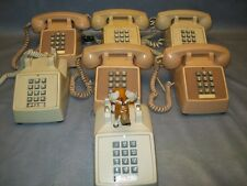 Vintage Telephones (Parts Only) From a Government Buiilding Lot of 7