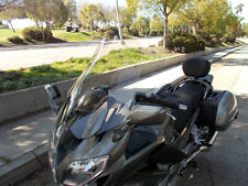 "2013 and Up Yamaha FJR 1300 Clear 23"" Tall Windshield Custom Made in USA"