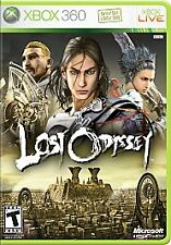 Lost Odyssey 4 disc set Complete in original case w/ Manual Xbox 360