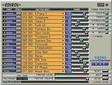 Roland Virtual Sound Canvas 3 -Virtual MIDI Synth Player AND  MIDI Editor.