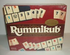 "VINTAGE FACTORY SEALED 1997 DELUXE EDITION"" RUMMIKUB"" GAME BY PRESSMAN TOY"