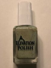 ELEVATION POLISH PENGUINS OF THE STEPPE MINT GREEN GLITTER NAIL LACQUER INDIE