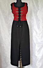 AUSTRIA-STEINBOCK TYROL OKTOBERFEST DIRNDL LINEN WOMEN'S DRESS-SIZE:US8/EU36