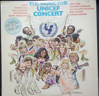 THE MUSIC FOR UNICEF CONCERT - VINYL LP AUSTRALIA (ABBA, BEE GEES, DONNA SUMMER)