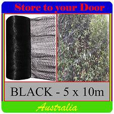 5x10m BLACK Anti Bird Netting , Plant net / Fruit Tree Bird Netting