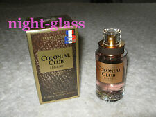 "EAU DE TOILETTE FOR MEN-JEANNE ARTHES ""COLONIAL CLUB"" MADE IN FRANCE-100 ML-NEUF"