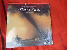 Twister Cover Broken CD Movie Film Laser Disc Large DVD LaserDisc Vintage