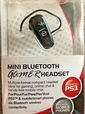 Mini bluetooth Gamer Headset for PS3 & Mobile Smartphone GameOn