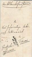 Originalbrief Jahr 1850 verschickt von Lemberg nach Tarnow interessanter Inhalt