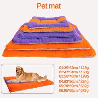 Warm Pet Mat Cat Dog Puppy Soft t Bed Pillow Cushion Mattres