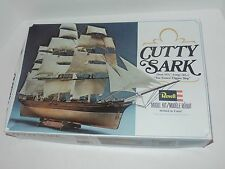 Vintage 1979 Revell Cutty Sark Clipper Ship Model Kit #5401