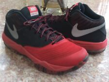 Nike Max Air Emergent Men's Red Black Basketball Shoes Size 8.5 #818954-600 EUC