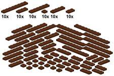 Lego - Bricksy's Bascis - Reddishbrown - B51 - Platten neues braun - schmal