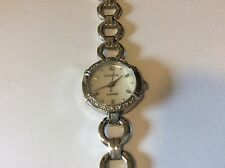 ladies invicta Diamond all stainless steel watch new battery