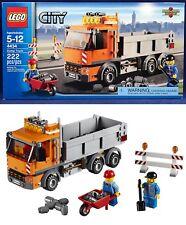 New DUMP TRUCK - Lego 4434 - CITY DUMP TRUCK - 2 Worker Minifigures - SEALED