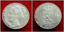 Netherlands - 1 Gulden 1907 Zeer Fraai